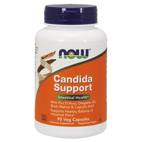 NOW Candida Support, Кандида Саппорт - 90 капсул