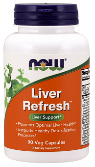 NOW Liver Refresh (Liver Detoxifier), Ливердетокс - 90 капсул